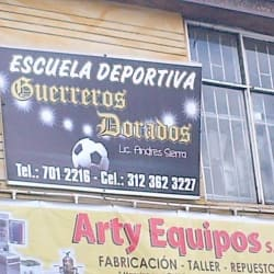 Guerreros Dorados Escuela De Futbol en Bogotá