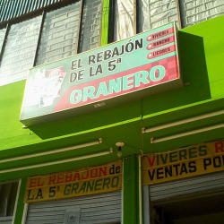 El Rebajón de la 5a Granero en Bogotá
