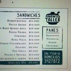 Sandwich Taller  en Bogotá