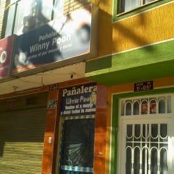 Pañalera Winny Pooh en Bogotá