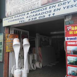 El bodegón de la Cornisa en Bogotá