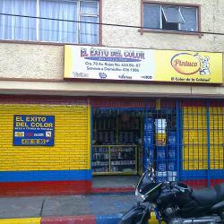 El Exito del Color E.U en Bogotá