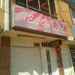 Pizzería Tecoa en Bogotá