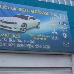 Auto Repuestos J&D en Bogotá