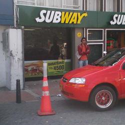Subway Carrera 30 en Bogotá