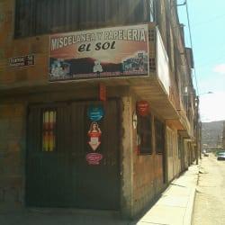 Miscelanea y Papelería El Sol en Bogotá