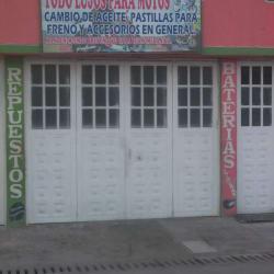 Todo Lujos Para Motos Lucho en Bogotá