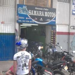 Samara Motos en Bogotá