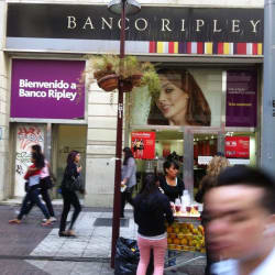 Banco Ripley - Ahumada en Santiago