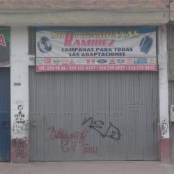 Surticampanas Ramírez en Bogotá