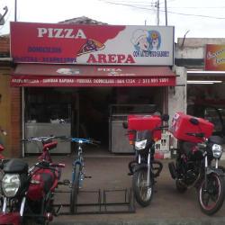 Pizza Arepa en Bogotá