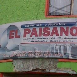 Láminas Y Retales El Paisano en Bogotá