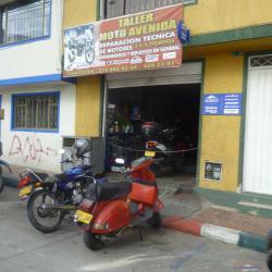 Taller Moto Avenidad en Bogotá