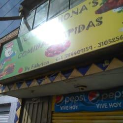 Ricas Lechonas El Arepazo en Bogotá