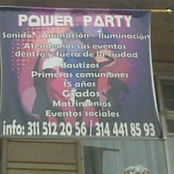 Power Party en Bogotá