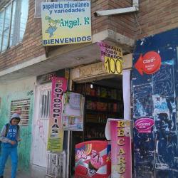 Papelería Miscelánea y Variedades Angel K en Bogotá