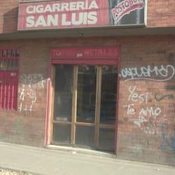 Cigarrería San Luis en Bogotá