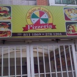 Delicias Al Carbón Pizzería en Bogotá