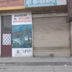 El Brasero Santandereano en Bogotá