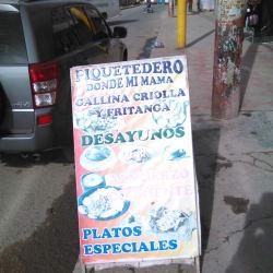 Piqueteadero Donde Mi Mama en Bogotá