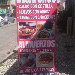 Restaurante El Sazón y Sabor en Bogotá