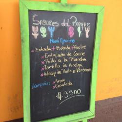Restaurant Sabores del Parque en Santiago