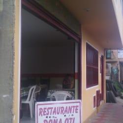 Restaurante Doña Oti en Bogotá