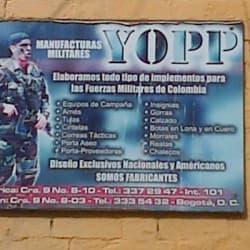 Manufacturas Militares Yopp en Bogotá