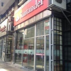 Banco Santander Centro en Santiago