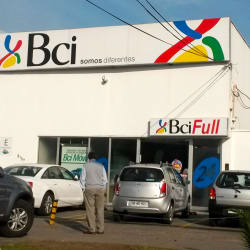 Banco BCI Las Tranqueras en Santiago