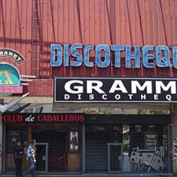 Discotheque Grammy en Santiago