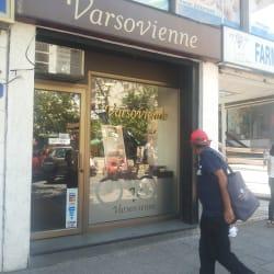 Varsovienne - Av. Providencia en Santiago