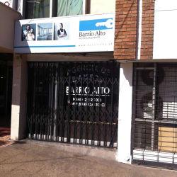 Barrio Alto en Santiago