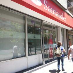 Banco Santander - Guardia Vieja en Santiago