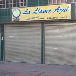 La Llama Azul en Bogotá