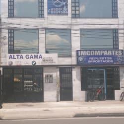 Alta Gama Incompartes en Bogotá