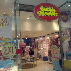 Bubble Gummers - Mall  Plaza Oeste en Santiago