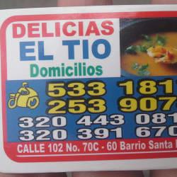 Delicias El Tio en Bogotá