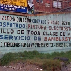 Electropinturas en Bogotá