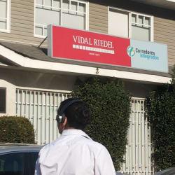 Vidal riedel en Santiago