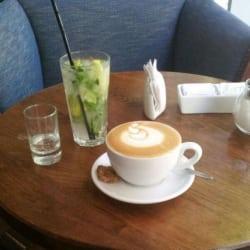 Café Blue Jar  en Santiago