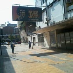 Estadio Victor Jara en Santiago
