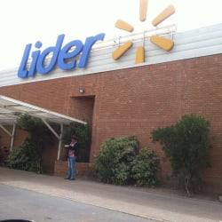Supermercado Líder - Mar Tirreno  en Santiago