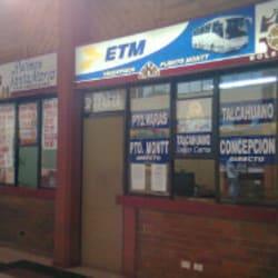 Buses ETM en Santiago