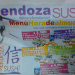 Mendoza Sushi - San Isidro en Santiago