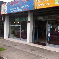 Restaurante Chung-San en Santiago