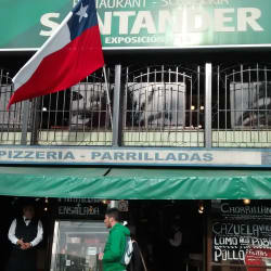 Restaurant Santander  en Santiago