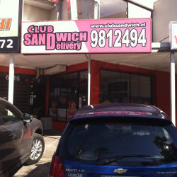 Club Sandwich Delivery en Santiago