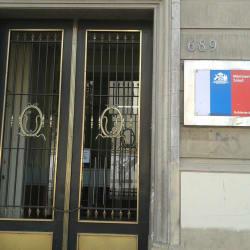 Ministerio de Salud en Santiago