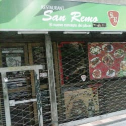 Restaurante San Remo en Santiago